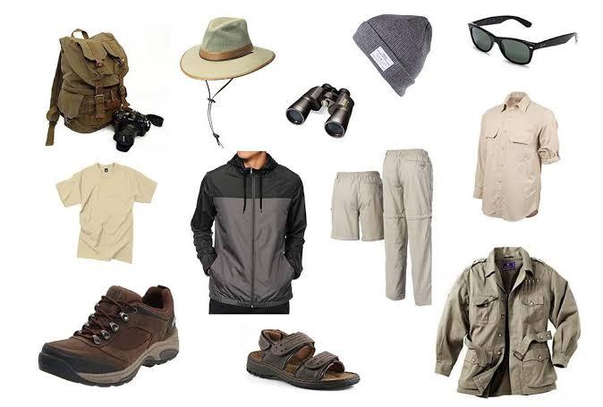 safari packing